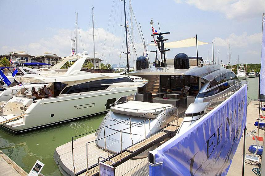 An incredible display at Royal Phuket Marina