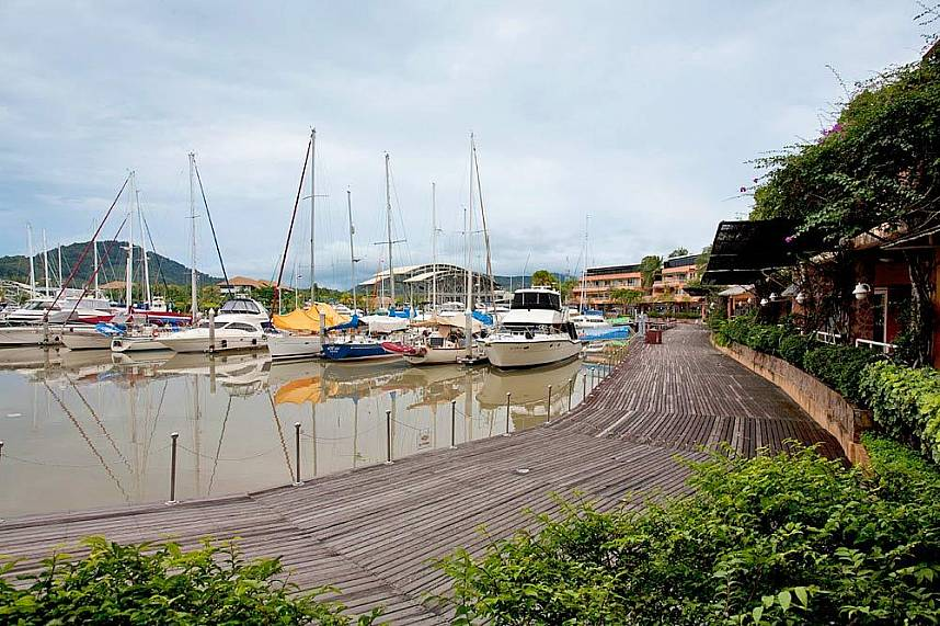 Boat Lagoon Marina Phuket is a great place for all boat fans