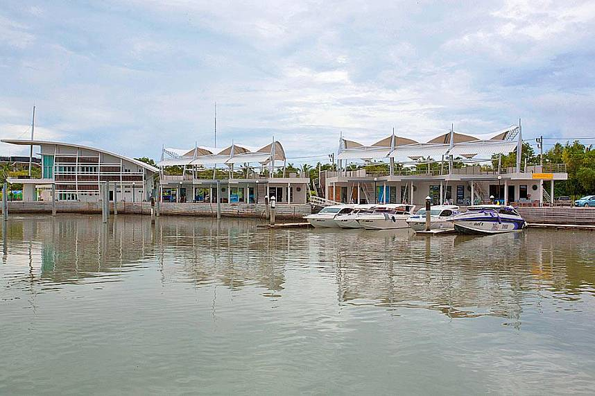 Explore the shore line of Boat Lagoon Marina Phuket