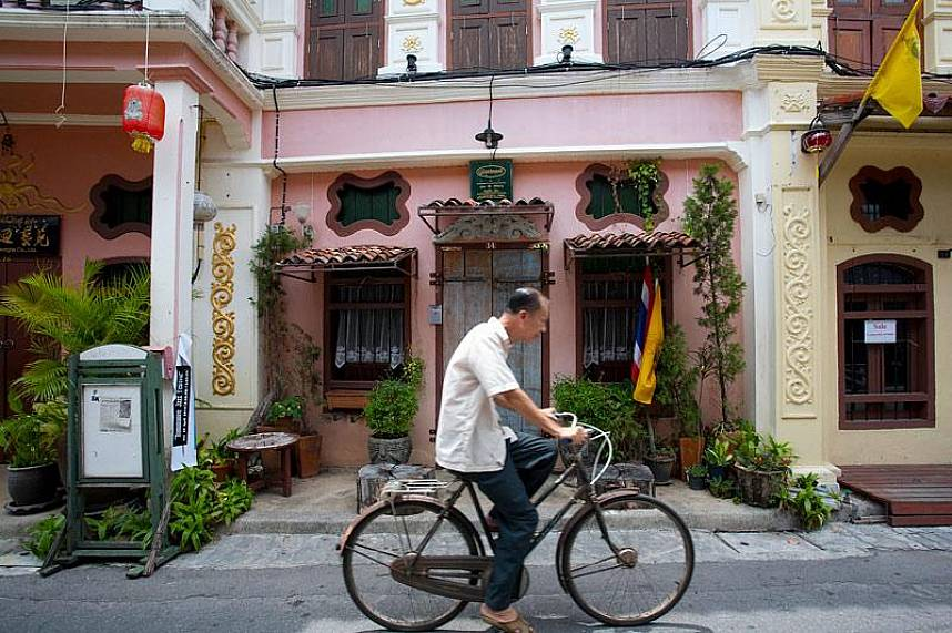 Explore Phuket Town with its picturesque old China houses