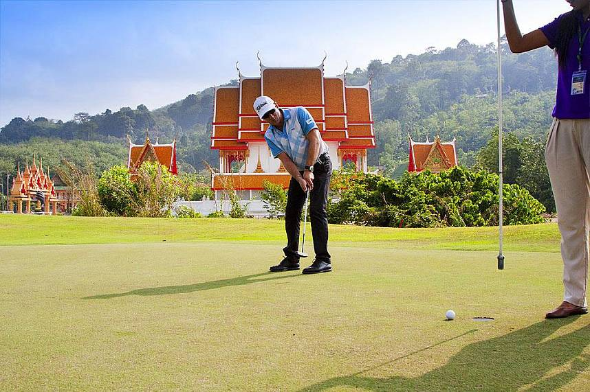 Spectacular scenery at Phuket Phunaka Golf Course