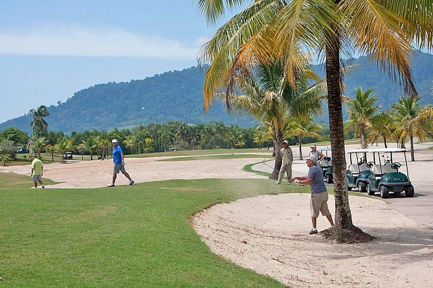 Phuket Mission Hills Golf Course is one of the most famous golf places in Phuket