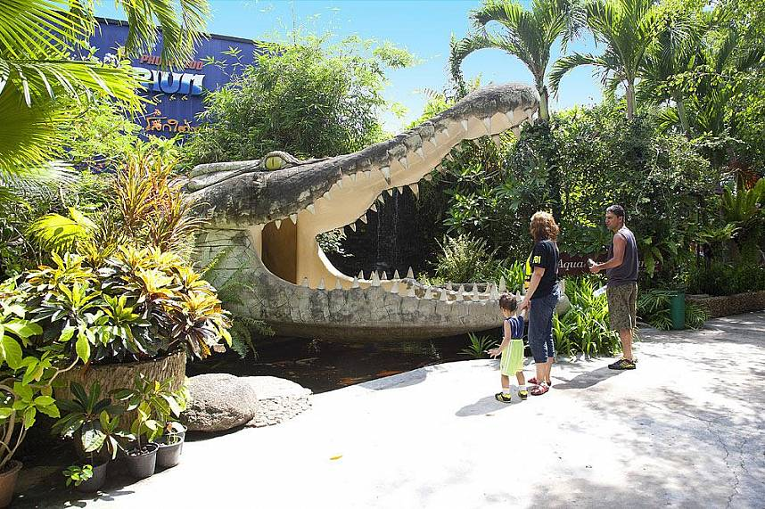 Phuket Zoo is a great place for the whole family