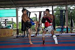 Sinbi Thai Boxing Gym in Rawai