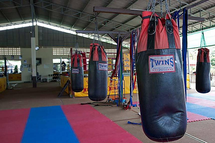 Well equipped Sinbi Thai Boxing Gym in Rawai