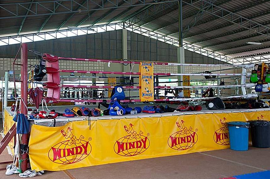 Sinbi Thai Boxing Gym in Rawai is the place to go if you are a boxing fan