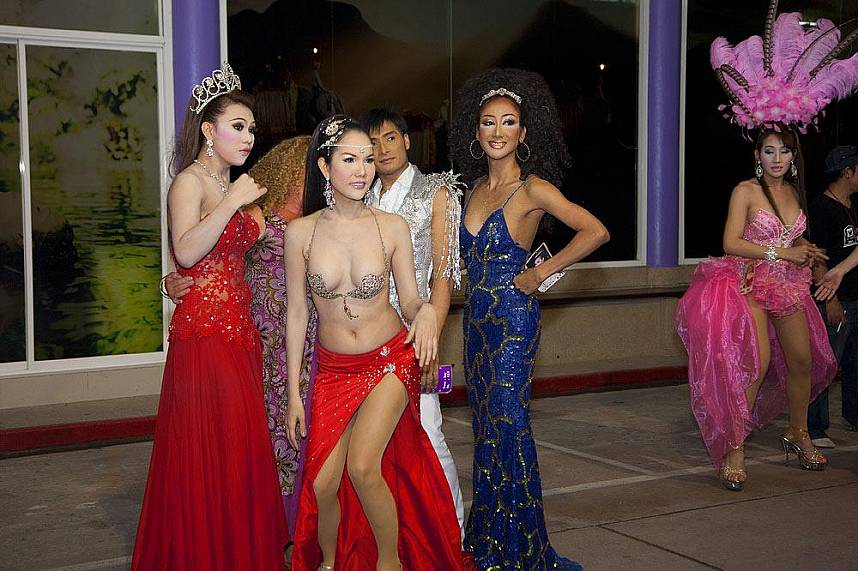 Have a fun evening at Simon Cabaret Ladyboy Show in Phuket during your Thailand beach holiday