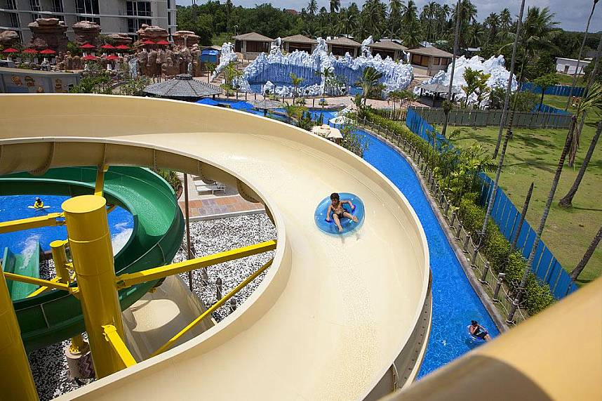 Splash Jungle Water Park in Phuket offers fun for every age