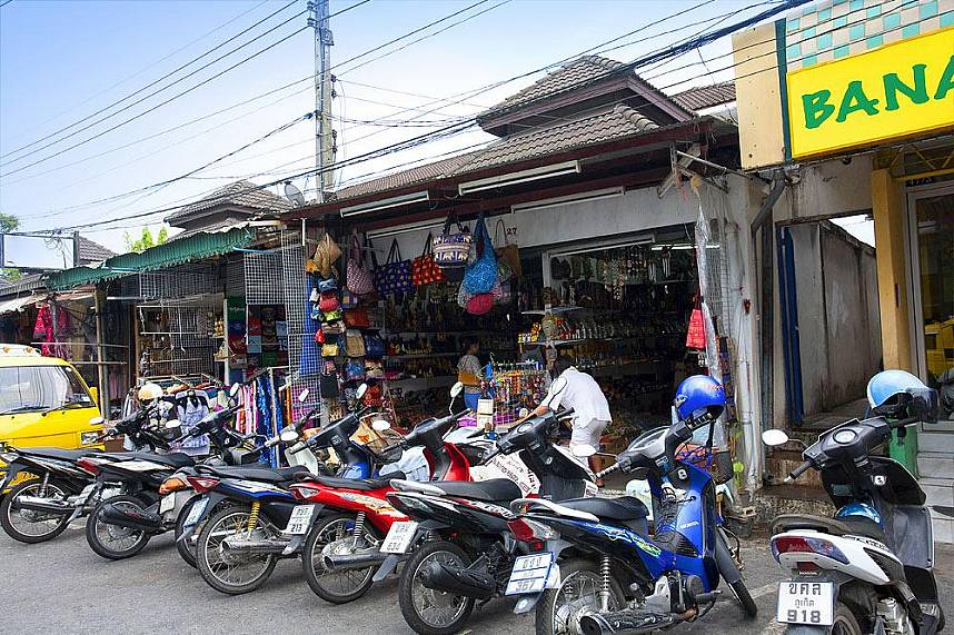 There is plenty to see near Robinson Shopping Center in Phuket town