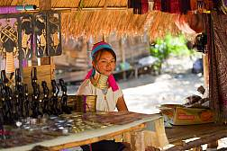Mae Rim Hill Tribe Village in Chiang Mai