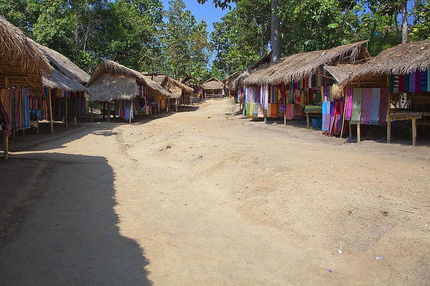 Mae Rim Hill Tribe Village in Chiang Mai is a great place to see the rural life of Northern Thailand