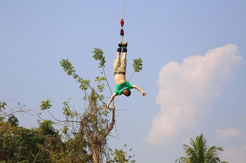 Get you adrenaline high at the X-Center in Chiang Mai