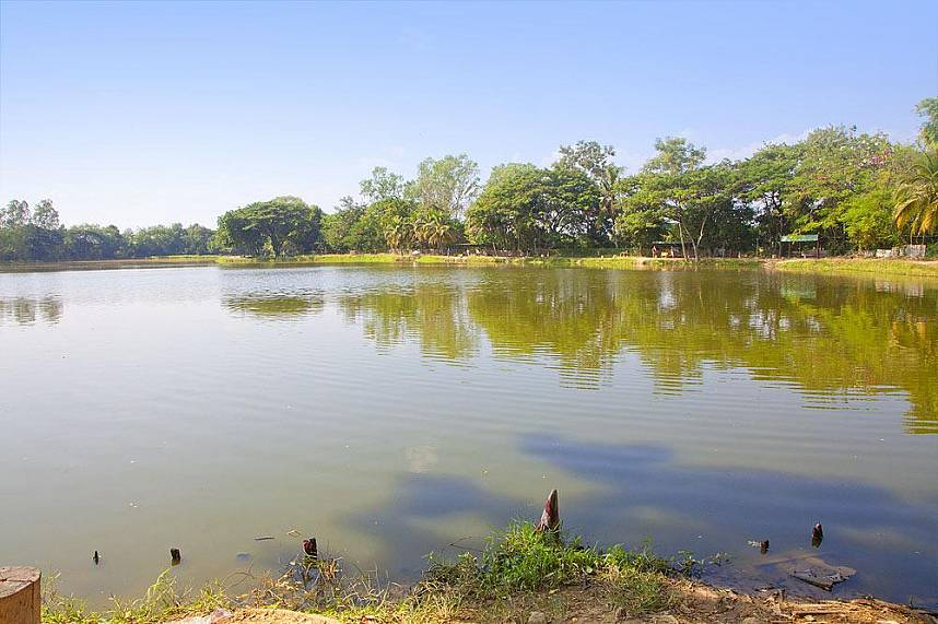 Admire the idyllic scenery at Borsang Fishing Park Chiang Mai
