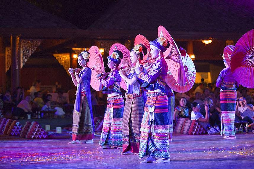 Do not miss an evening at Chiang Mai Traditional Khantoke Dinner and Show