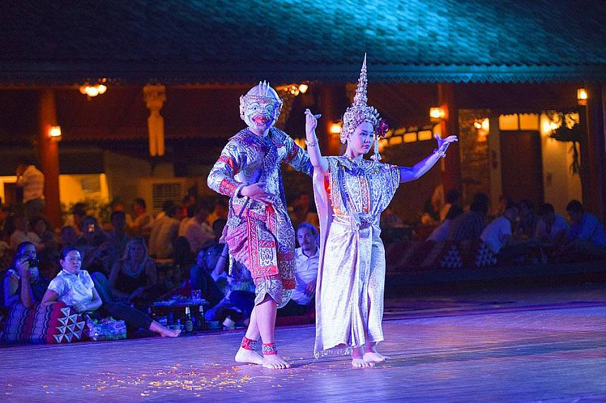 Without a visit at Traditional Khantoke Dinner and Show Chiang Mai your Thailand holiday is not perfect