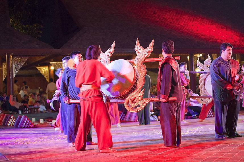 You will love the cultural show at Chiang Mai Traditional Khantoke Dinner and Show