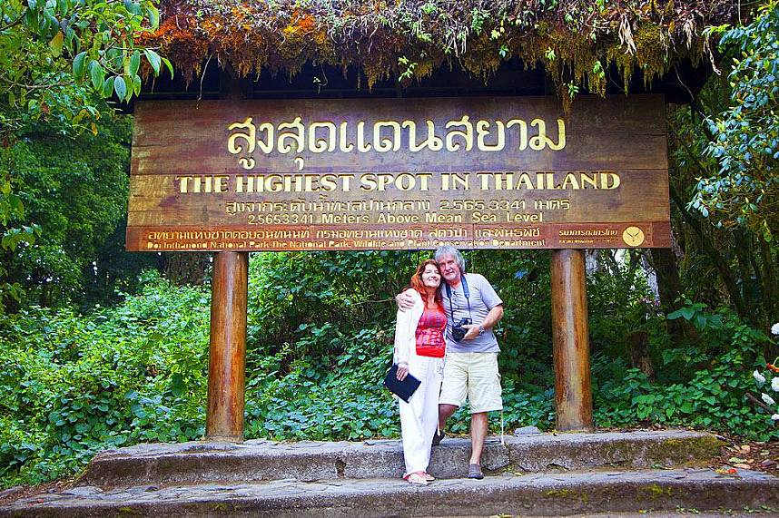 What a great day trip from Chiang Mai to Chiang Mai Doi Inthanon - the highest mountain in Thailand