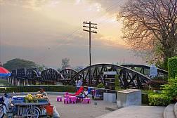 Мост через реку Квай в провинции Канчанбури