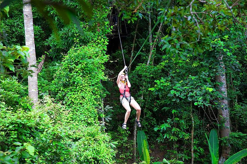 Great adventure holiday at Flight of the Gibbon Pattaya