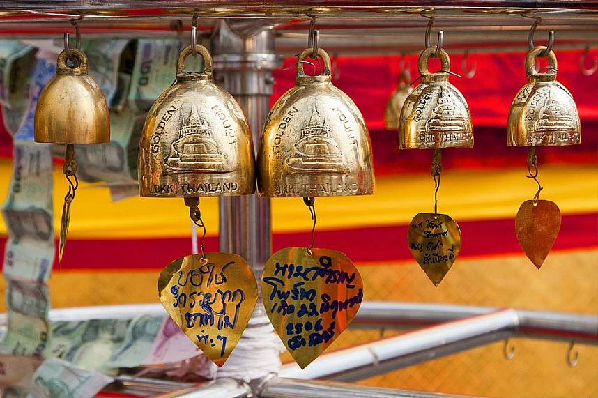 Get yourself a unique Thailand holiday souvenir from Golden Mount also known as Wat Saket
