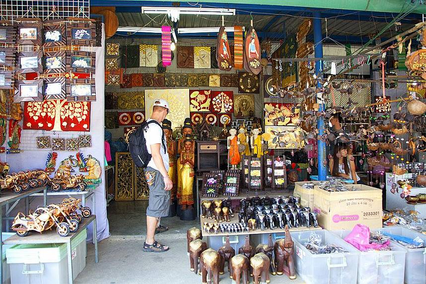 I visit during your Thailand holiday at Chatuchak Weekend Market is a must