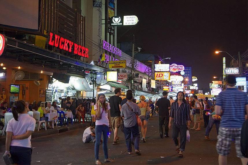 During your Thailand holiday you must visit Khao San Road Bangkok