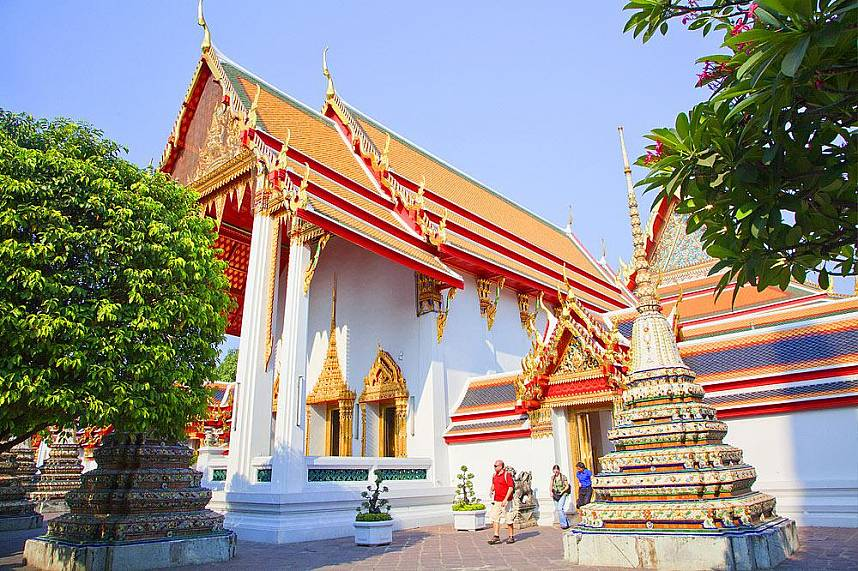 Wat Pho Bangkok is one of the most sacred places in Thailand