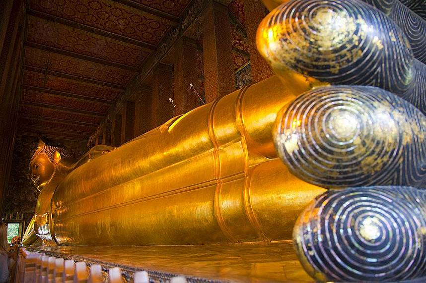 Reclining Buddha at Wat Pho Bangkok
