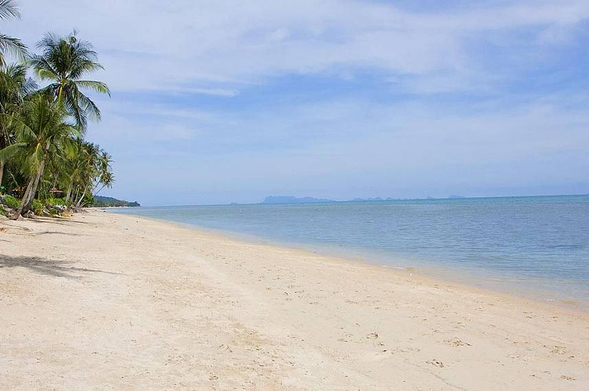 A truly amazing place for a day at Bang Por Beach in Samui