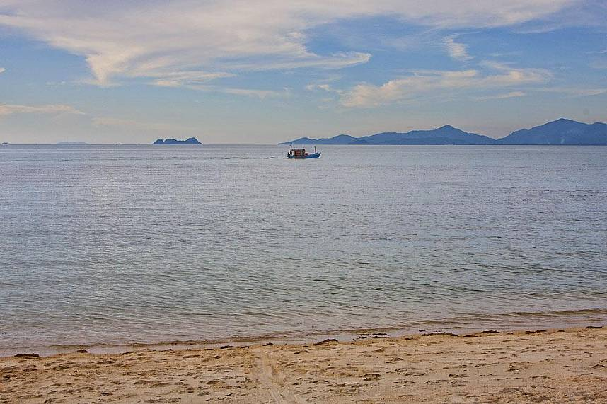 Idyllic scenery at Bang Por Beach Koh Samui