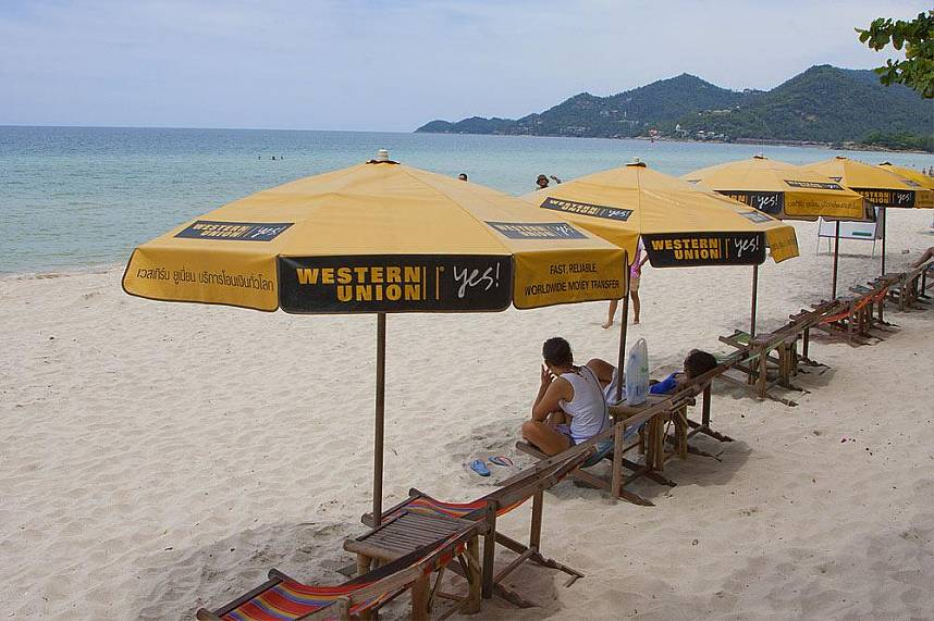 Chaweng Beach is the most famous beach holiday spot in Koh Samui