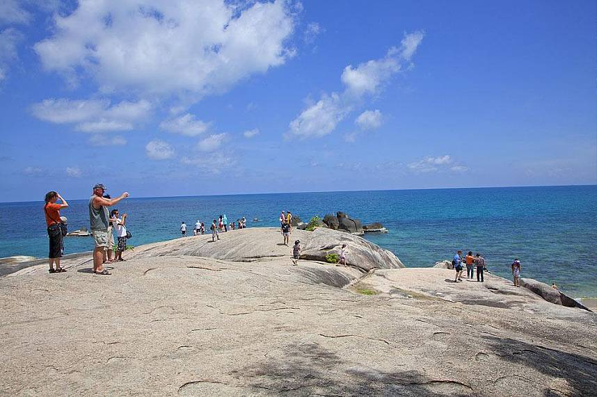 Hin Ta Hin Yay Koh Samui is one of the most visited attractions