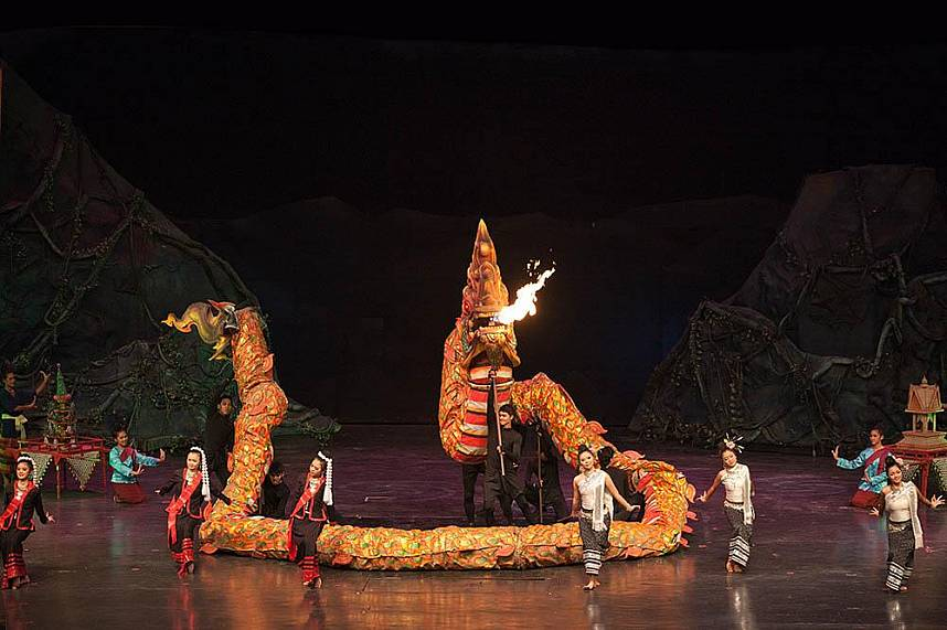 Great cultural experience at Alangkarn Theater Pattaya
