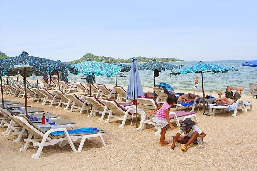 Your kids will love a day at Lamai Beach in Samui