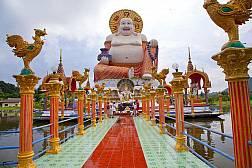 Храм Suwannaram (Wat Plai Laem), храм Ват Плай Лаем.