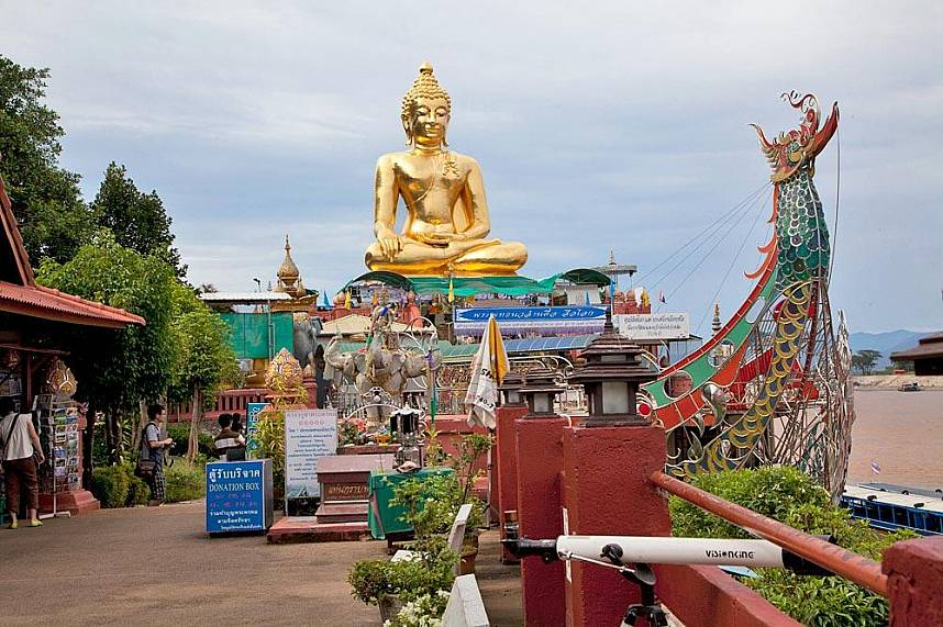 Do not miss the worlds famous Golden Triangle Chiang Rai