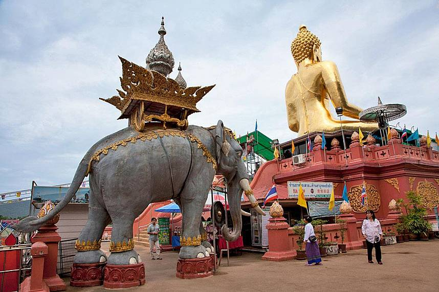 The Golden Triangle Chiang Rai is one of the must see places in Thailand