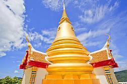 Пагода (чеди) Као Хуа Джук  на острове Самуи