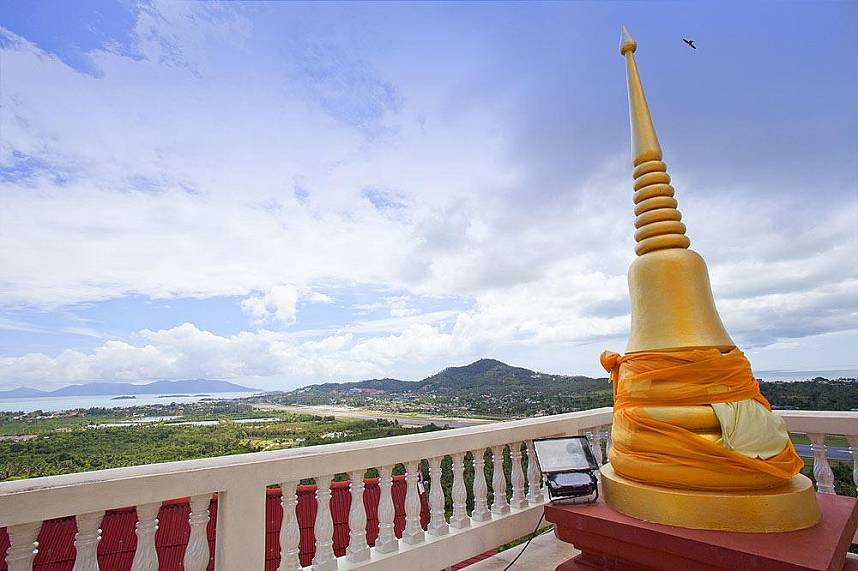 Khao Hua Jook Samui offers great views over Chaweng area
