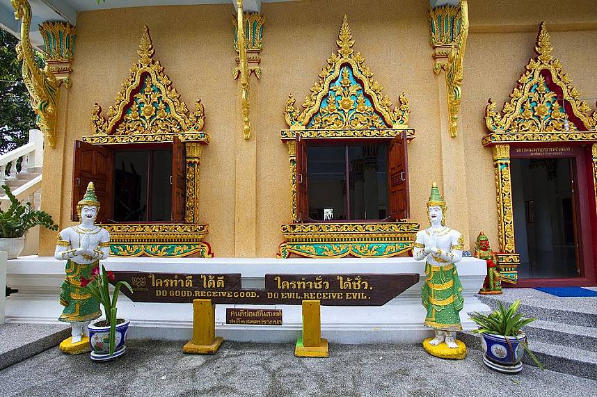 Get some spiritual insights during a visit at Khao Hua Jook temple Koh Samui
