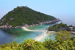 Острова Ко Тао и Нанг Юань.