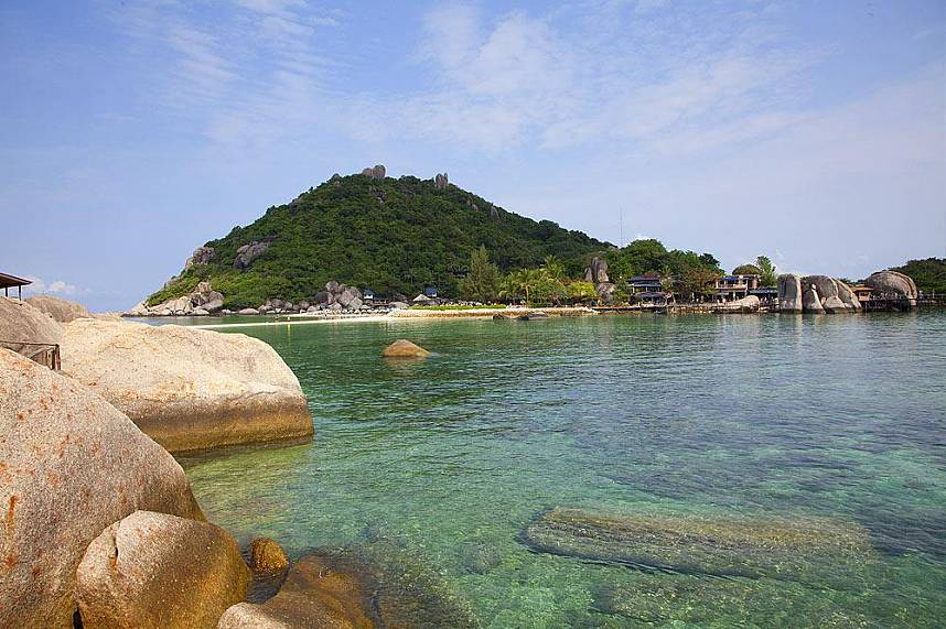 Koh Tao and Koh Nang Yuan are great Koh Samui attractions