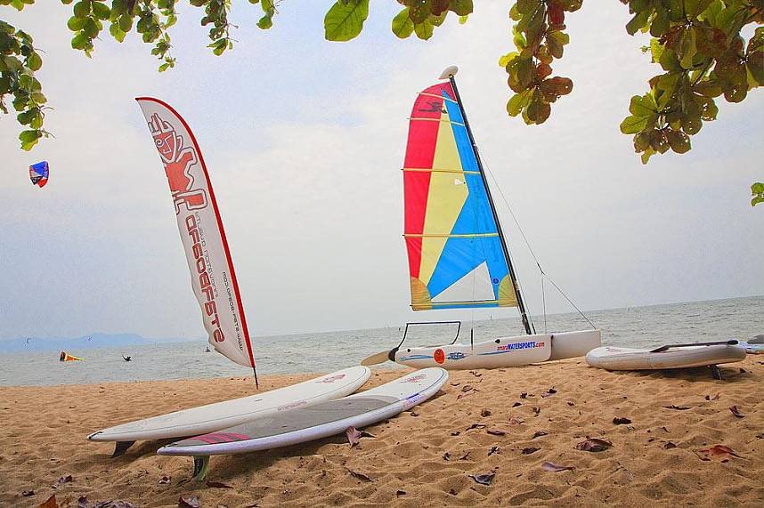 Ready to play - Amara Windsurfing Club Water Sports Pattaya