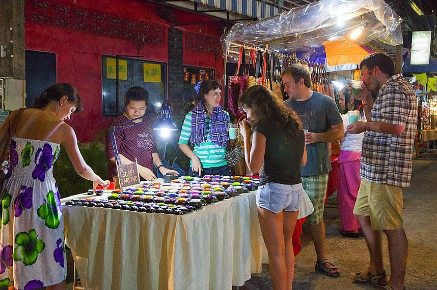 During your Thailand beach holiday you have to see Maenam Night Market Koh Samui
