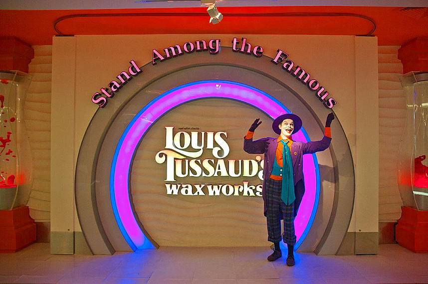 Louis Tussauds Waxworks Pattaya awaits you