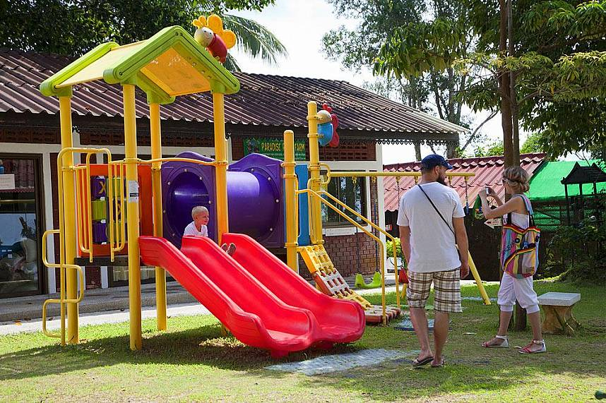 Paradise Park Farm Khao Pom Koh Samui - a great place for a family tour