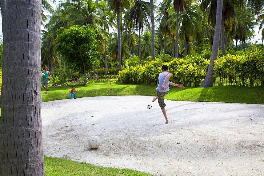 Samui Football Golf is a fun attraction place for families