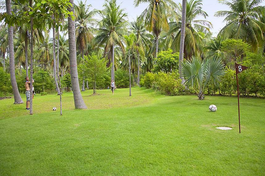 Try your lucky shot at Samui Football Golf during a fantastic Thailand holiday