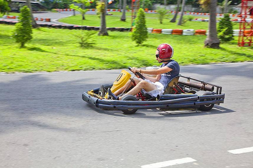 Samui Go Kart is a great place during your beach holiday in Thailand