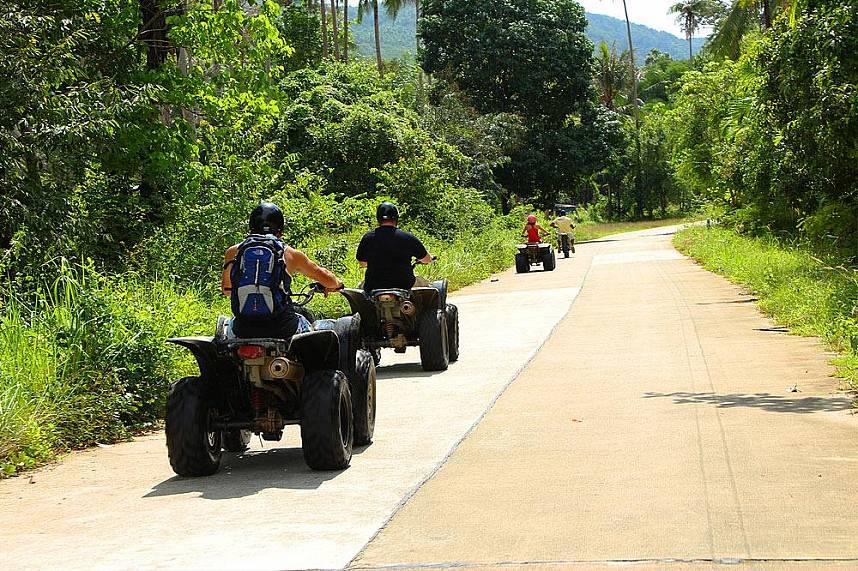 A day full of fun and adventure awaits you at Samui Quad ATV